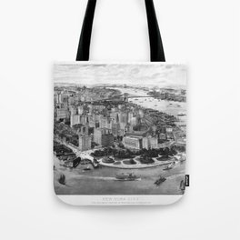 Vintage New York 1903 Tote Bag