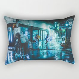 In the Moment - Memphis Photo Print Rectangular Pillow