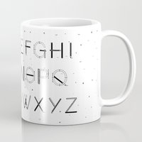 font Mugs featuring Craft Font by neuprouns
