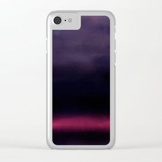 Dark Days Clear iPhone Case