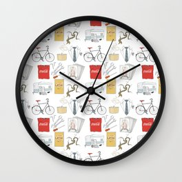 Adam Parrish Wall Clock