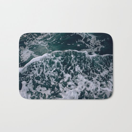 Waves and me Bath Mat