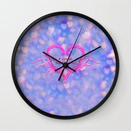 Love Stings Wall Clock