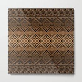 The Lodge (Brown) Metal Print