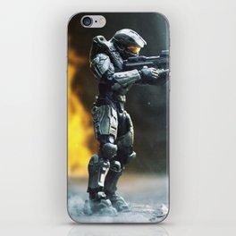 Fire Fight iPhone Skin