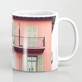 ORANGE AND GREEN 4-STOREY BUILDING Coffee Mug