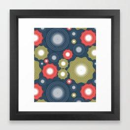 Zentangle Geometric Framed Art Print