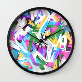 Dividing Wall Clock