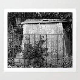 ancient memorial Art Print