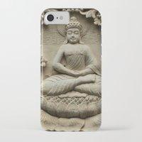 buddha iPhone & iPod Cases featuring Buddha by Falko Follert Art-FF77