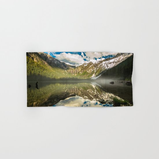 Mountains Reflection Hand & Bath Towel