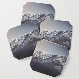 Snowy Mountain Range Coaster