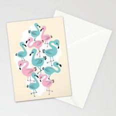 Flamingo Go Go Stationery Cards
