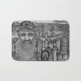 Popcorn Sutton - A Smoky Mountain Moonshiner and his World. Bath Mat