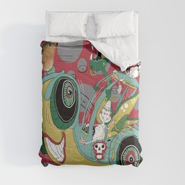 get in the car, we're goin' for a ride! Comforters