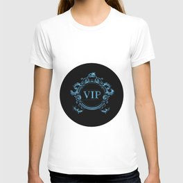 VIP in Blue and Black T-shirt