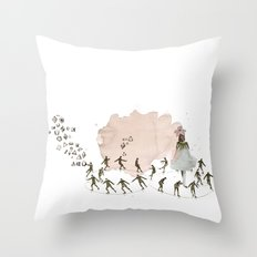 hey diddle diddle 1 Throw Pillow