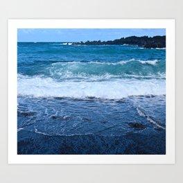 Black Rock Beach Art Print