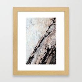 222MrblRck12-9-16 Framed Art Print