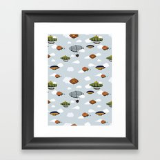 Blimps, Zeppelins, and Dirigibles Framed Art Print