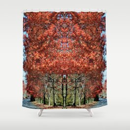 We Welcome You to Fall Shower Curtain