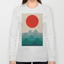 Modern Landscape III Long Sleeve T-shirt