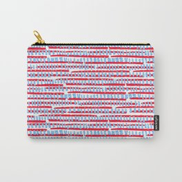Red, White, Blue Carry-All Pouch
