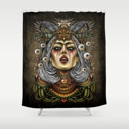 Winya No.2 Shower Curtain