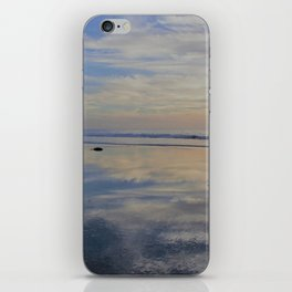 Beach with No Beginning  -   No End iPhone Skin