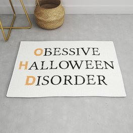 O.H.D.   Halloween Obsessed Rug