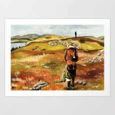 Isle of Skye Art Print