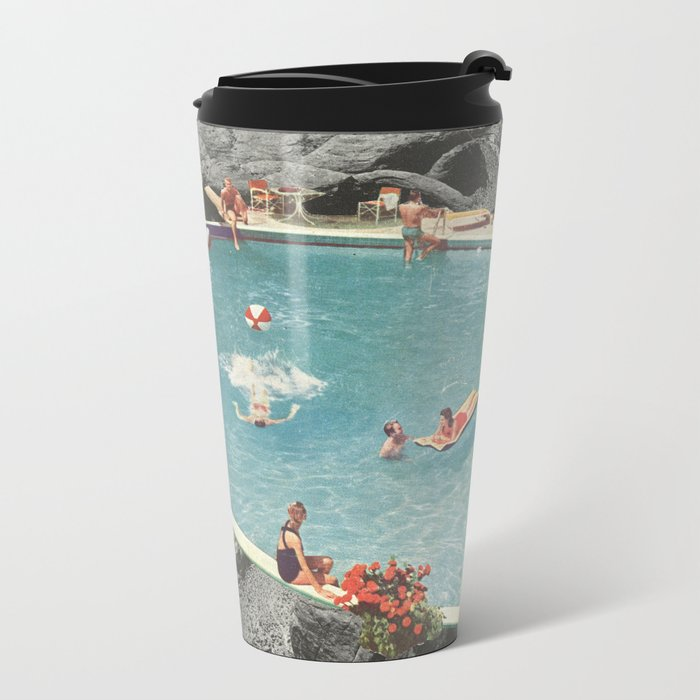 is this the place that they call paradise? Metal Travel Mug
