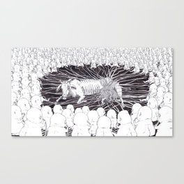 Suck On Nature Canvas Print