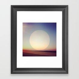 Artificial Sun Framed Art Print