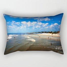 Folly Beach in Charleston SC Rectangular Pillow