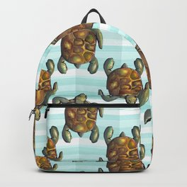 sea turtles Backpack