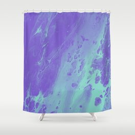Tint - Abstract Marble Texture Series: 01 Shower Curtain