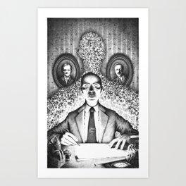 Per Aspera ad Astra (2013) Art Print