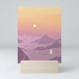 """R5-D4 Tatooine Sunset"" by Lyman Creative Co Mini Art Print"