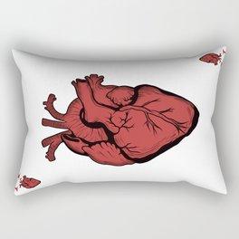 Ace of Hearts Rectangular Pillow