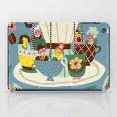 The Coffee Carousel iPad Case