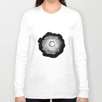 tree rings Long Sleeve T-shirts featuring Tree Rings by vogel