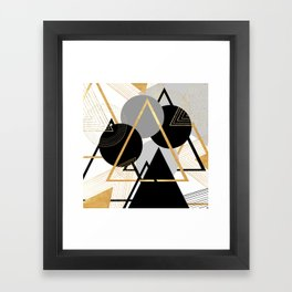 Deltamatic Framed Art Print