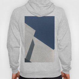 Abstract architecture against blue sky Hoody