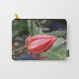 Beautiful Cactus Bud Carry-All Pouch