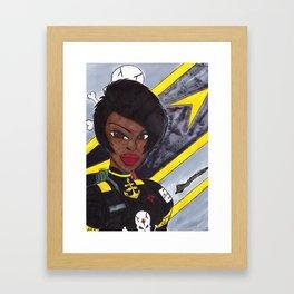 Star Fighter Pilot Framed Art Print