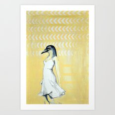 Dancing Until Flight Art Print