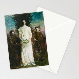 Abbott Handerson Thayer - My Children (Mary, Gerald, and Gladys Thayer) (1897) Stationery Cards