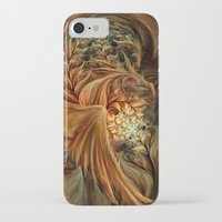phoenix iPhone & iPod Cases featuring Phoenix by SensualPatterns
