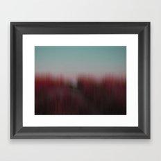 hideout (back to unnatural) Framed Art Print